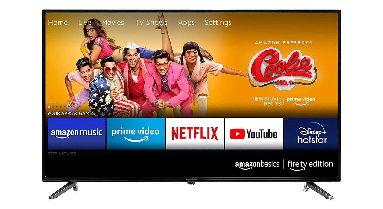 Amazon ryktas börja sälja egna tv-apparater