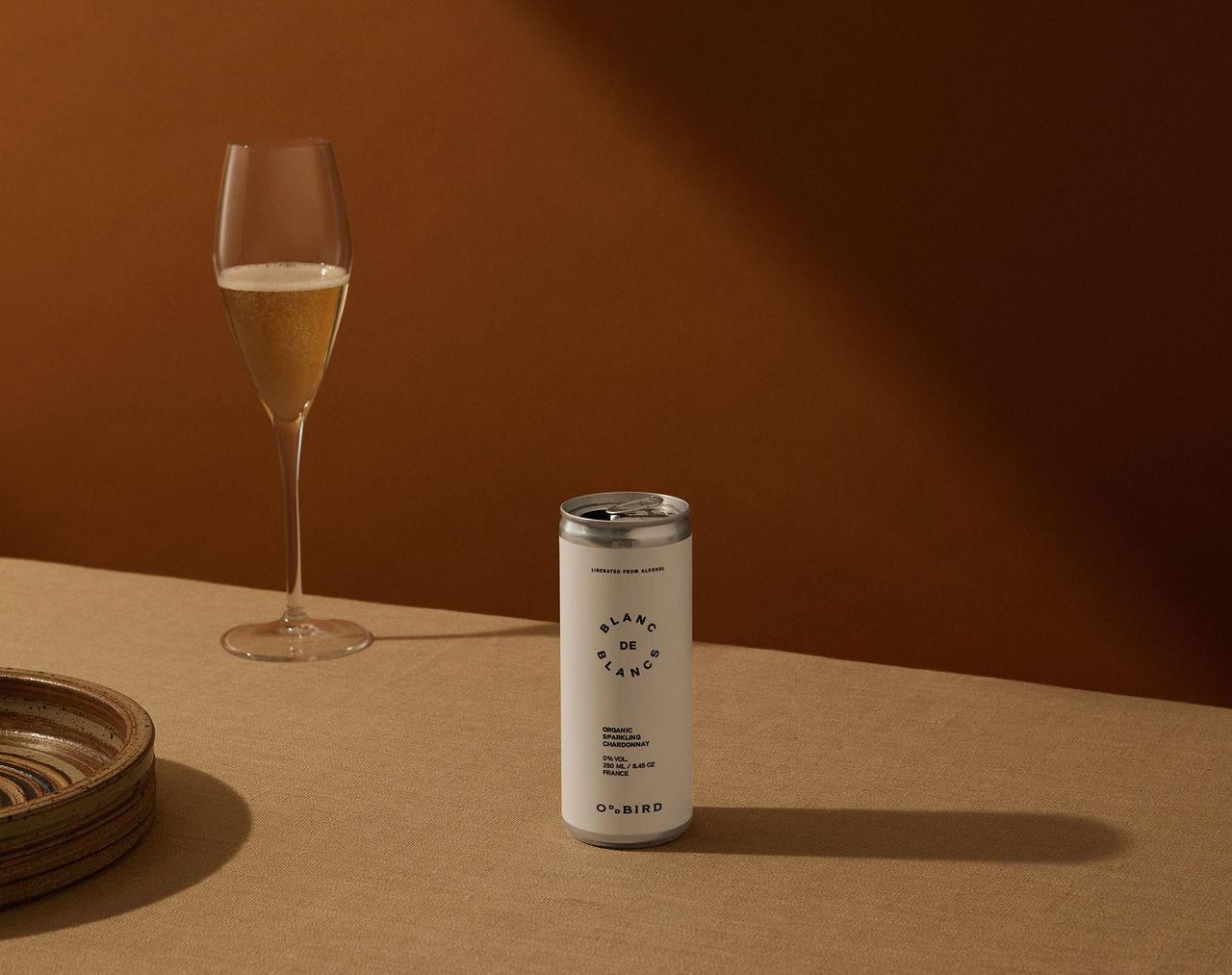 Alkoholfritt ekologiskt mousserande vin
