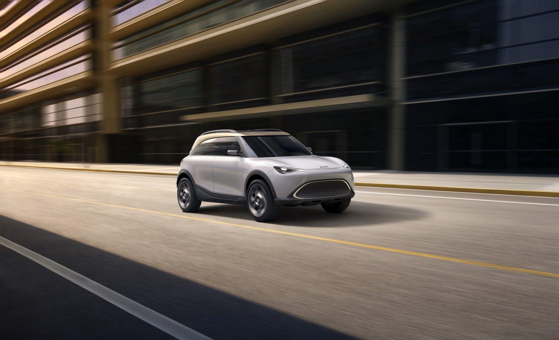 Smart tar klivet in i SUV-världen