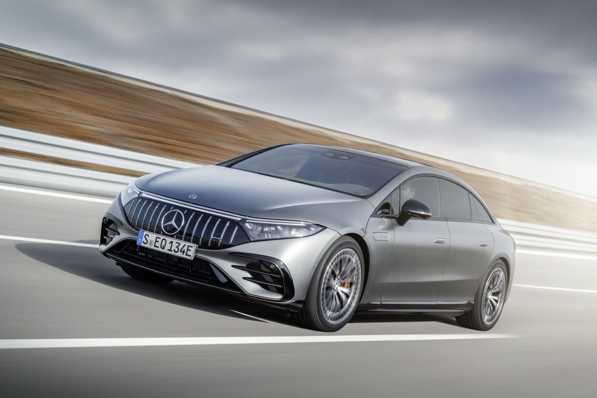 Det här är Mercedes första eldrivna AMG-modell