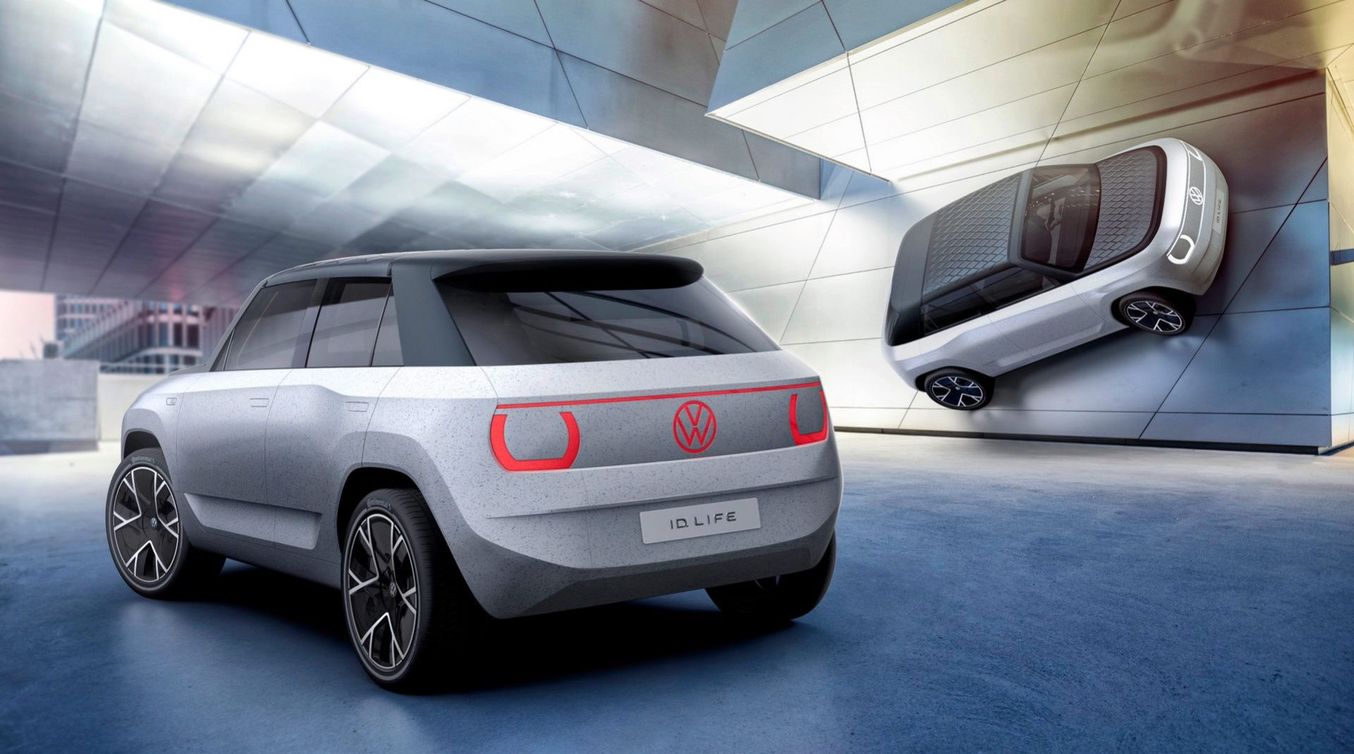 Volkswagen visar lilla ID. LIFE