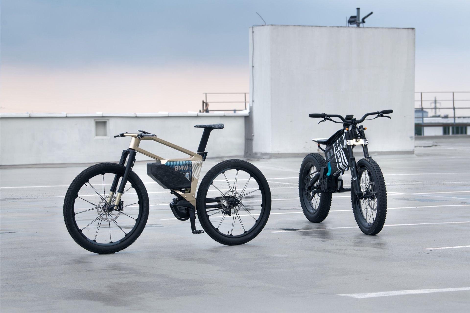 BMW släpper cross och mountainbike med el-drivning