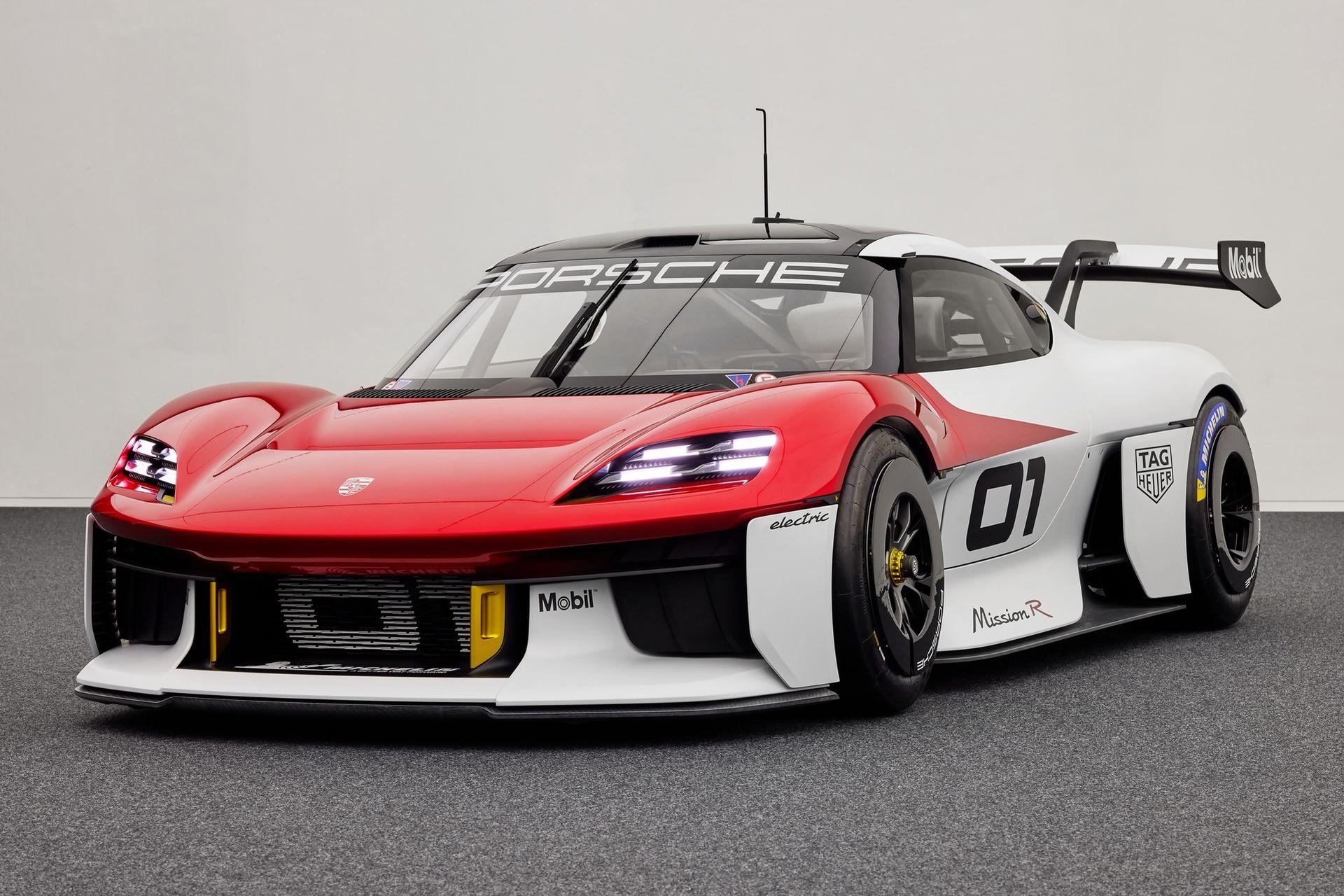 Porsche överraskar med Mission R