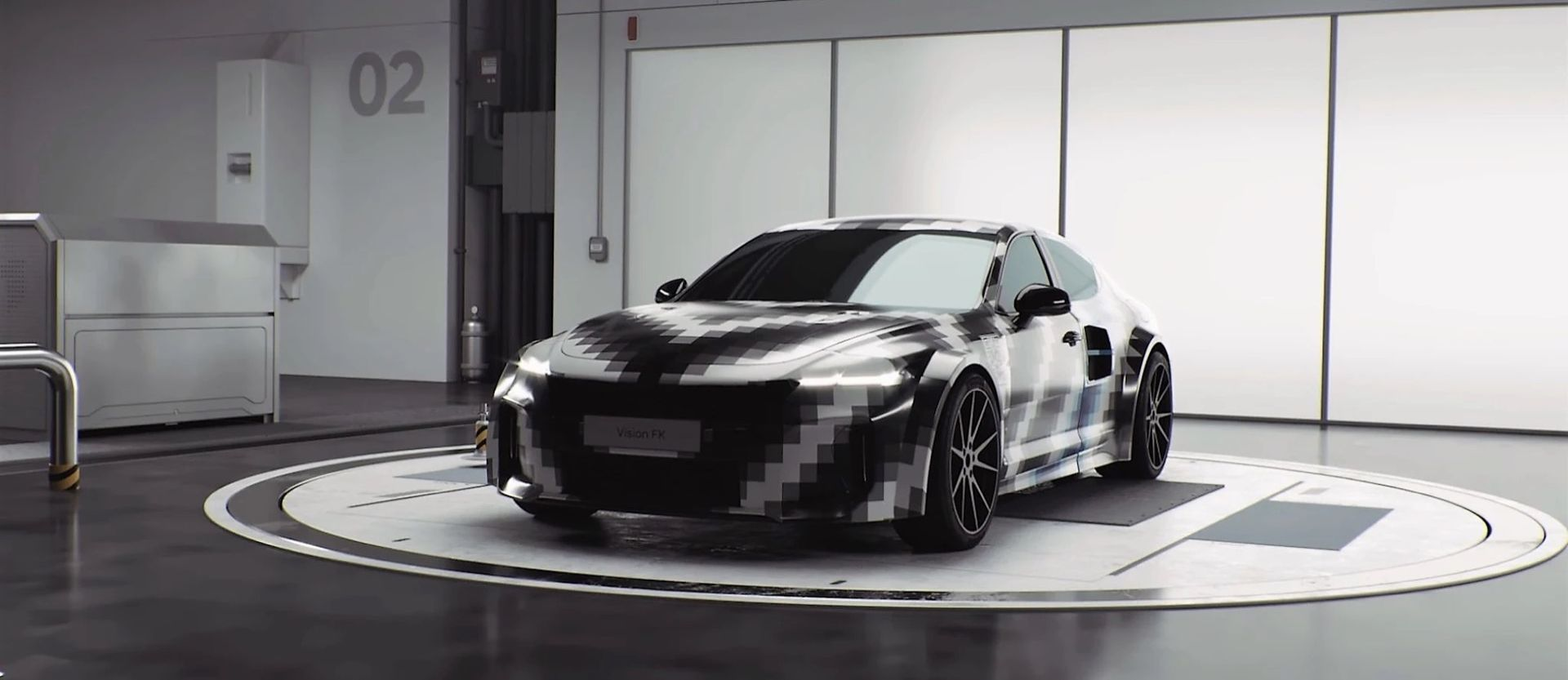Hyundai visar vätgasdrivet sportbilskoncept