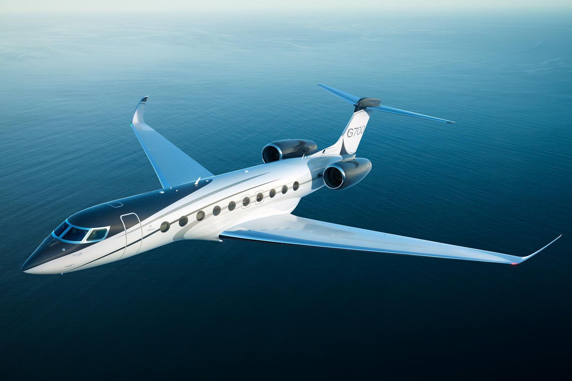 Kolla in Gulfstream G700