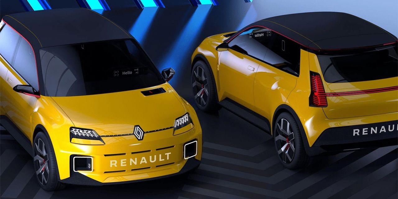 Eldrivna Renault 5 börjar tillverkas 2024