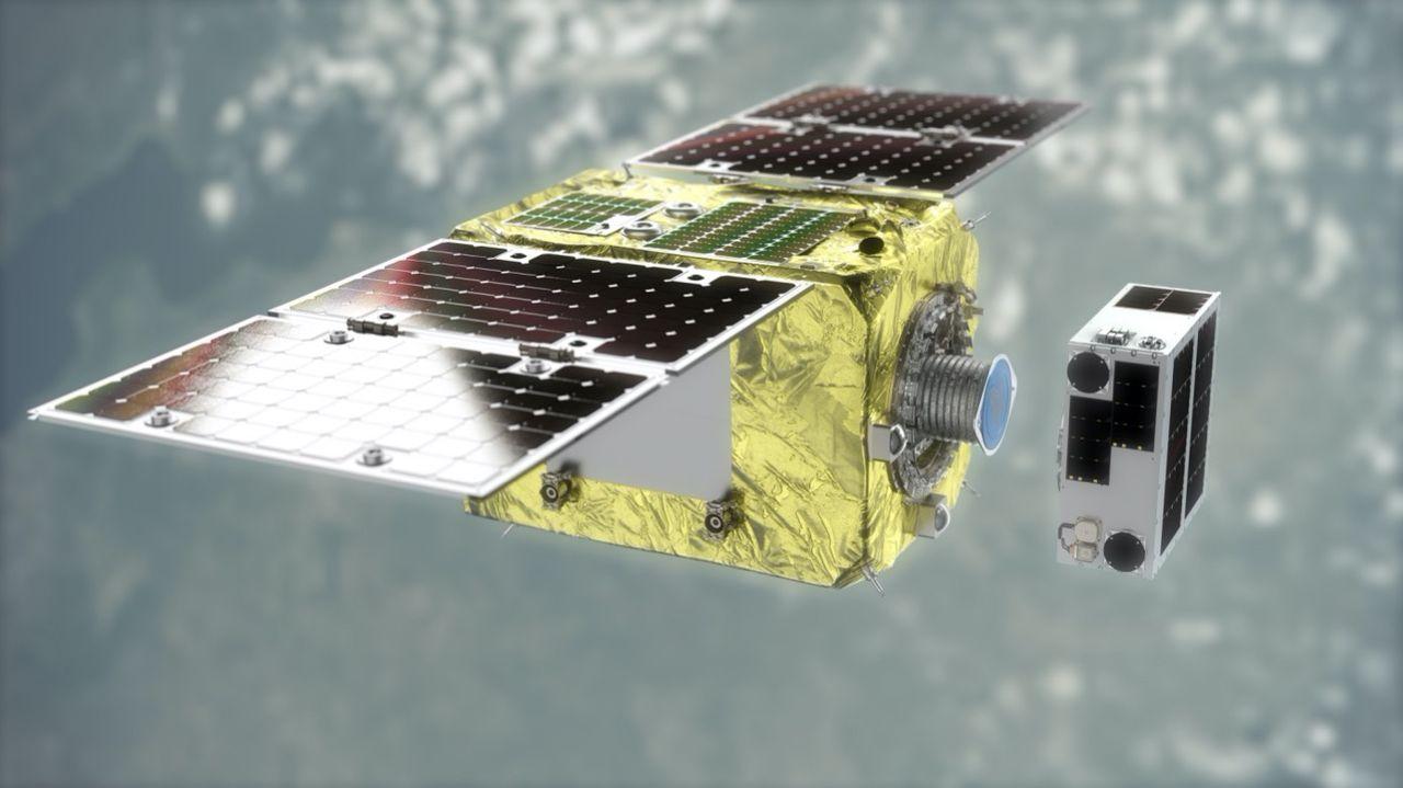 Astroscale har testat att fånga in en satellit i rymden