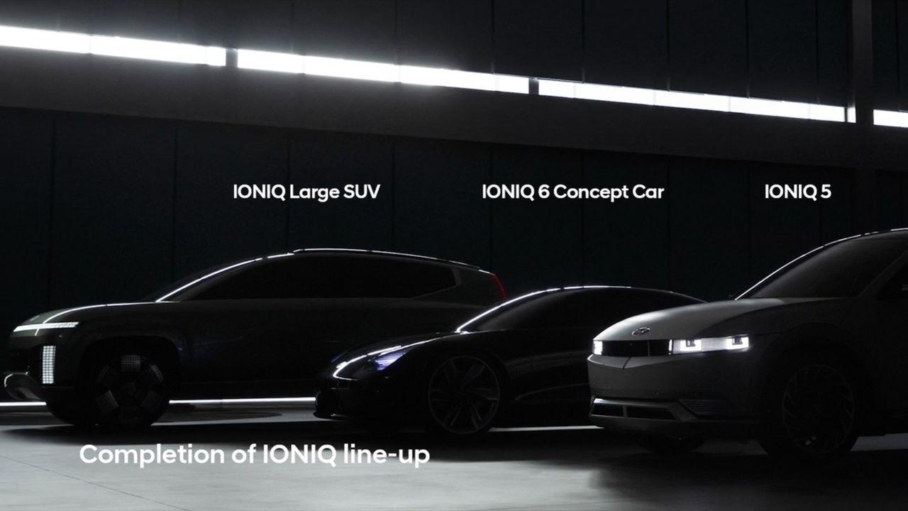 Ny teaser för Hyundai Ioniq 7