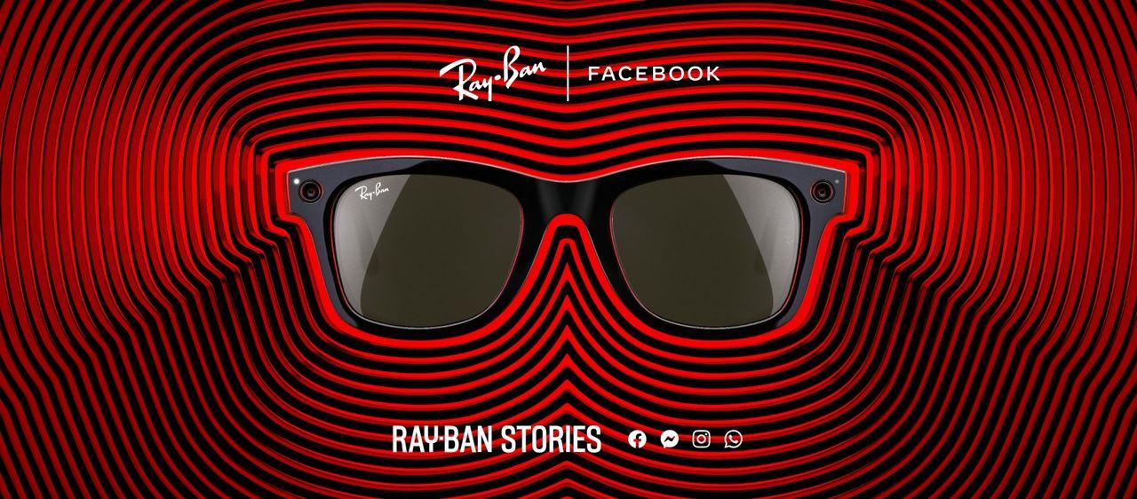 Facebook och Ray-Bans smarta solglasögon officiella