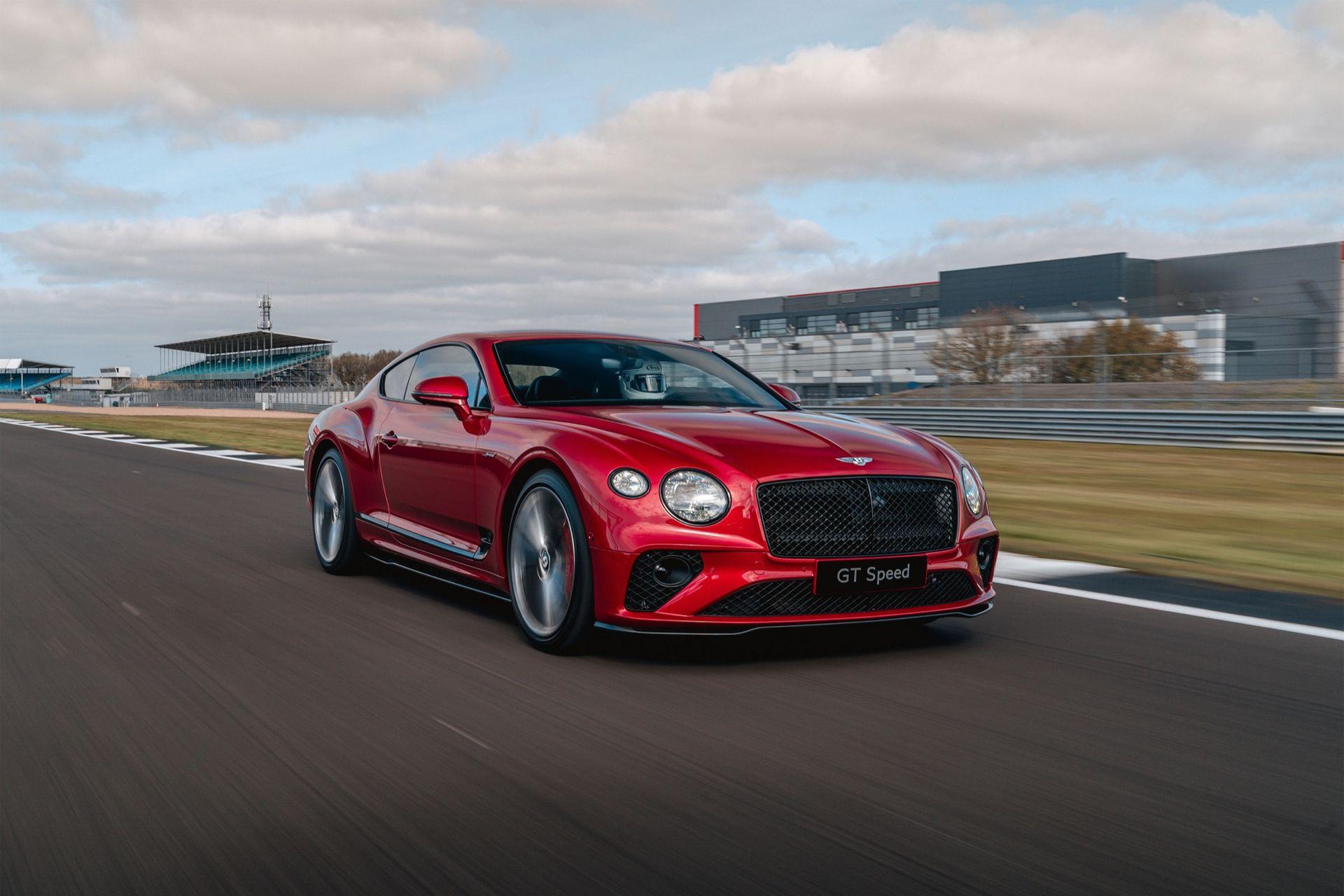 Bentley Continental GT som hybrid kanske är på väg