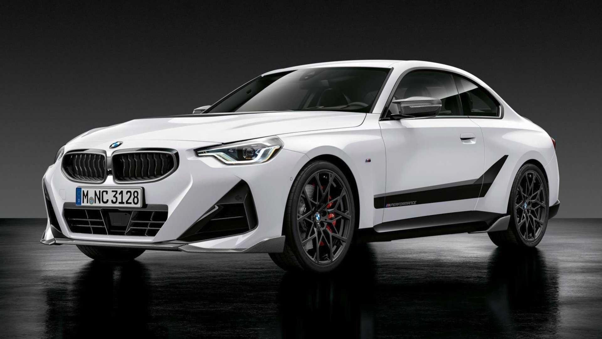 Nya BMW 2-serien full med M Performance-delar