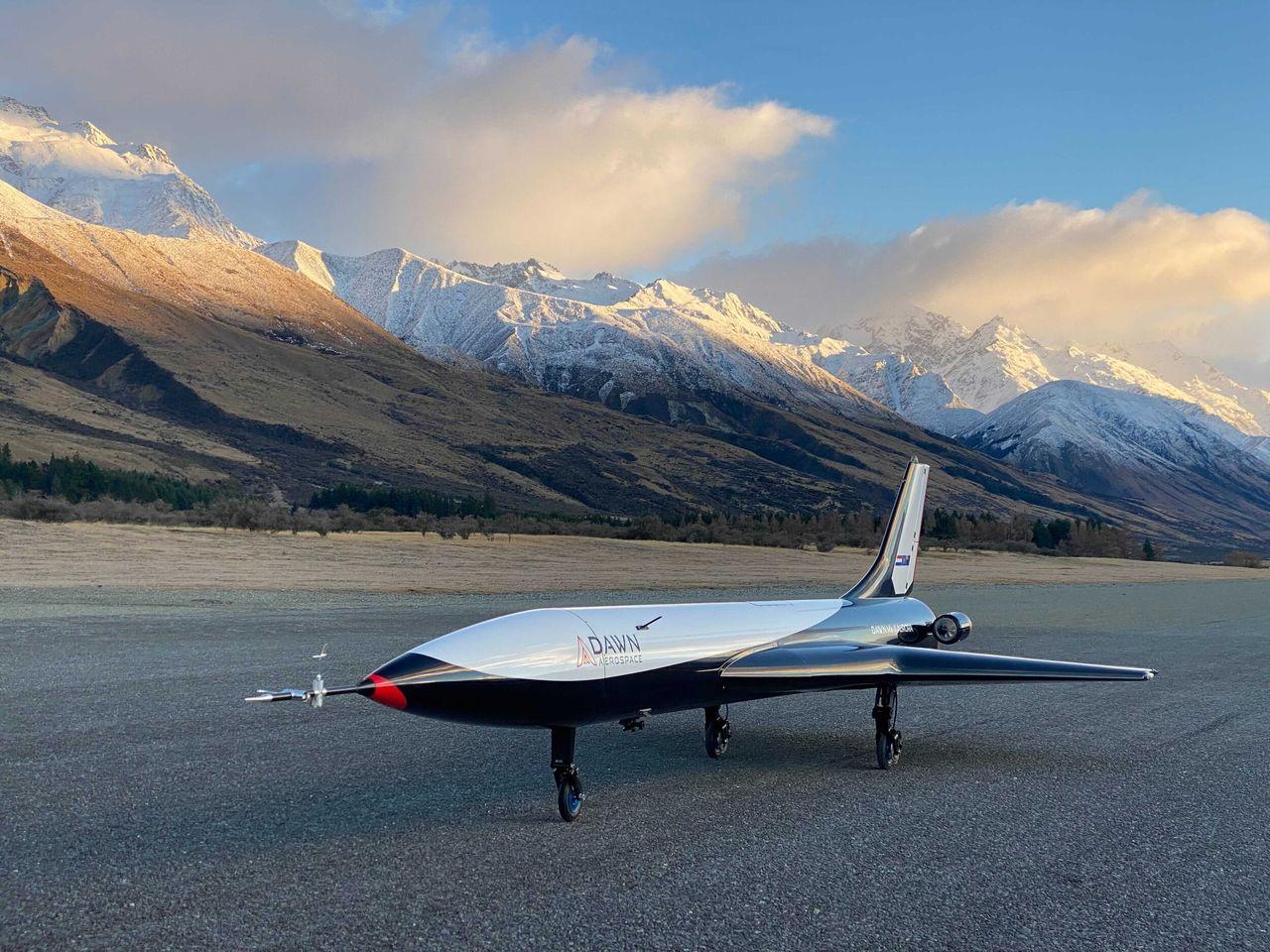 Dawn Aerospace har testat sitt rymdflygplan Aurora