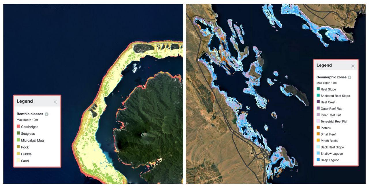 Första detaljerade kartan över världens korallrev färdigställd