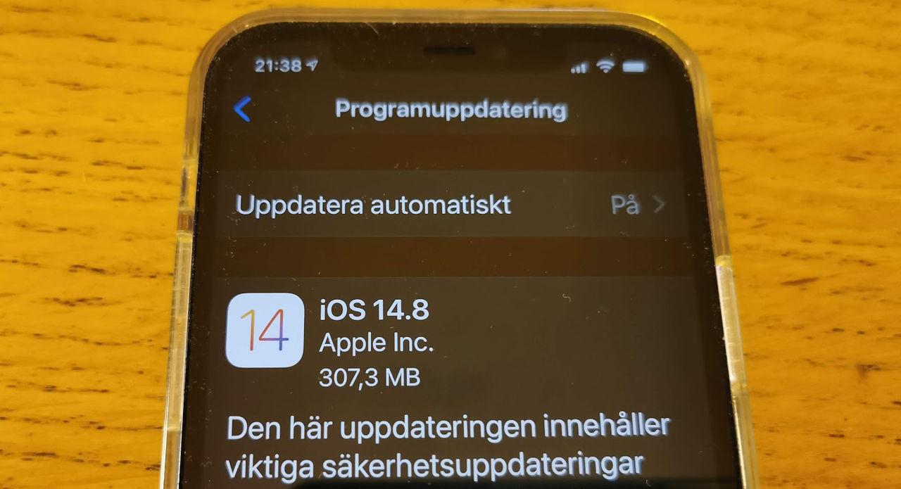 Apple släpper säkerhetsuppdatering till flera operativsystem