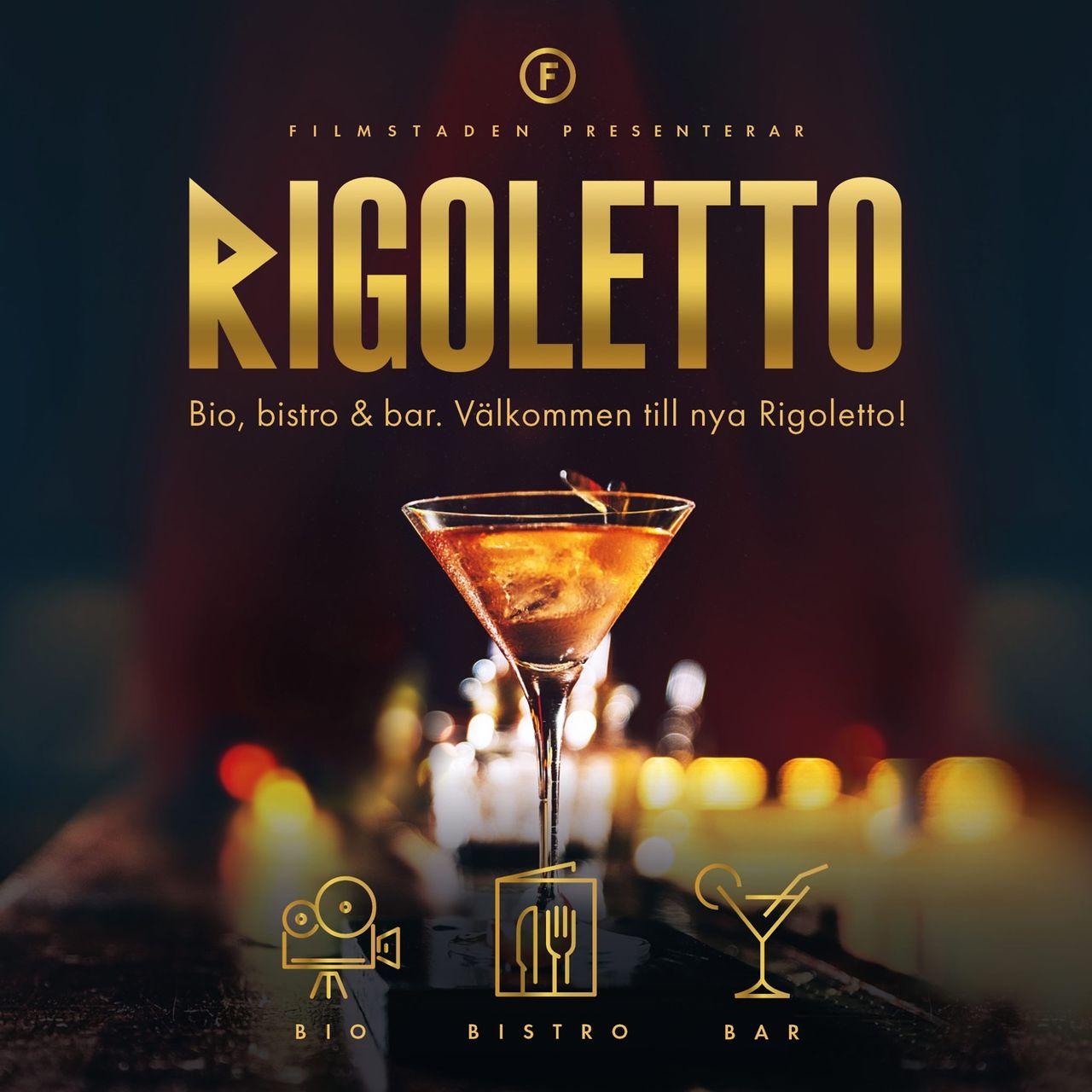 Biograf Rigoletto öppnar med nytt koncept