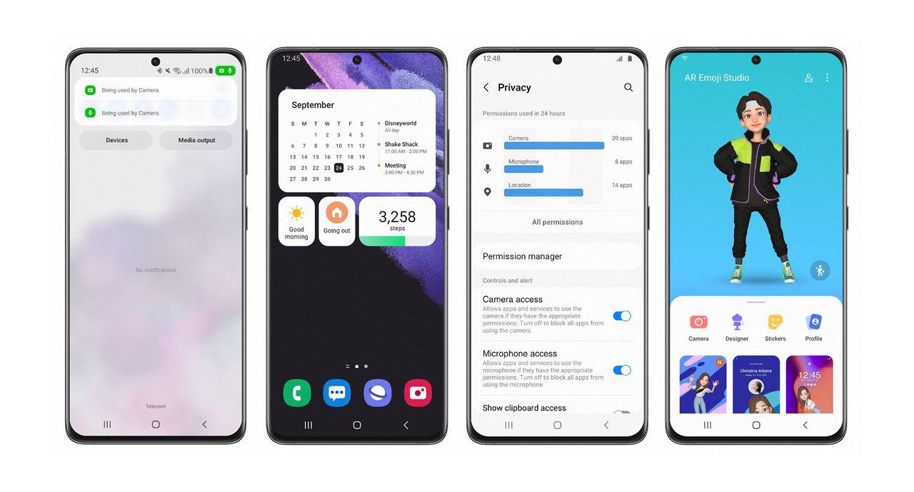 Samsung rullar ut Android 12-beta till Galaxy S21