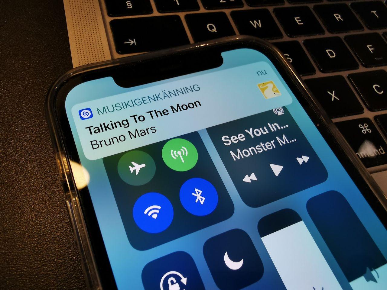 Shazam har identifierat en miljard låtar via kontrollcenter