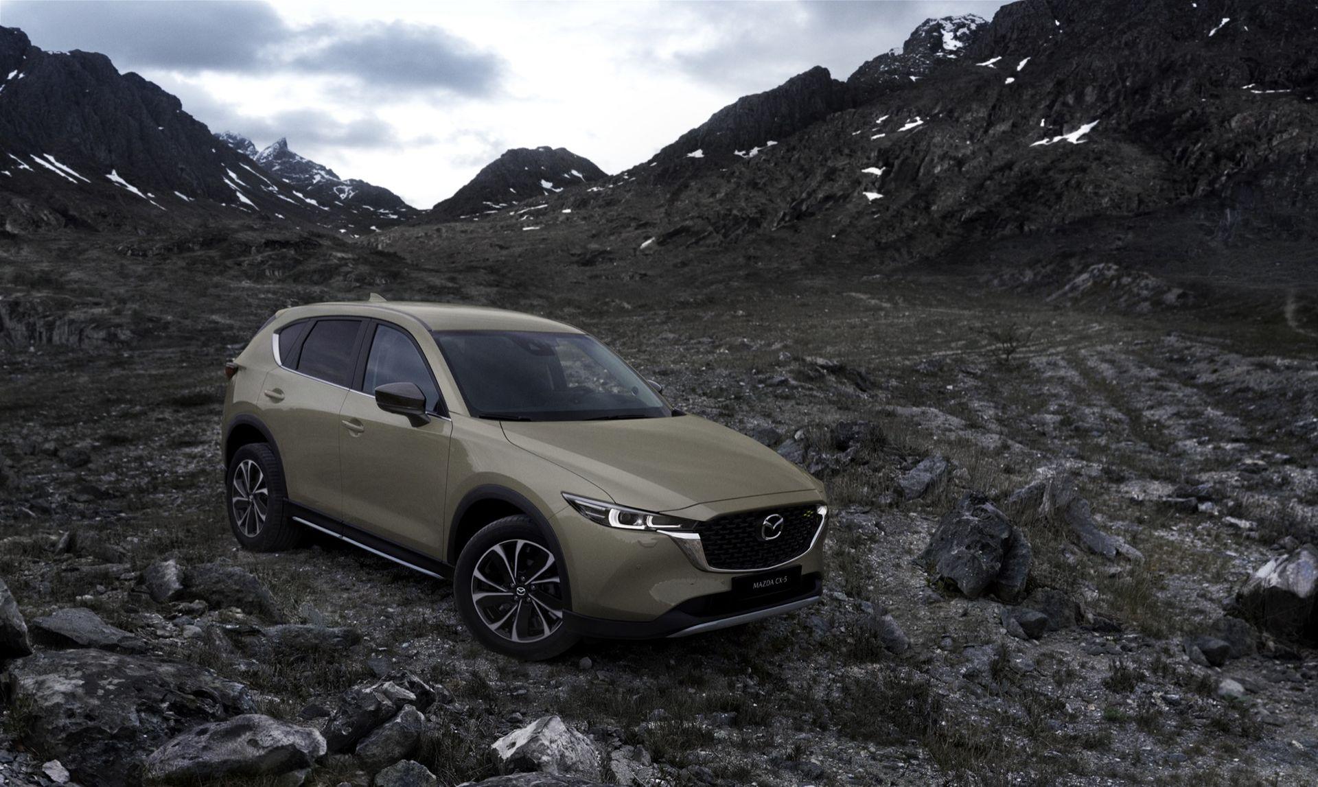 Mazda lyfter CX-5
