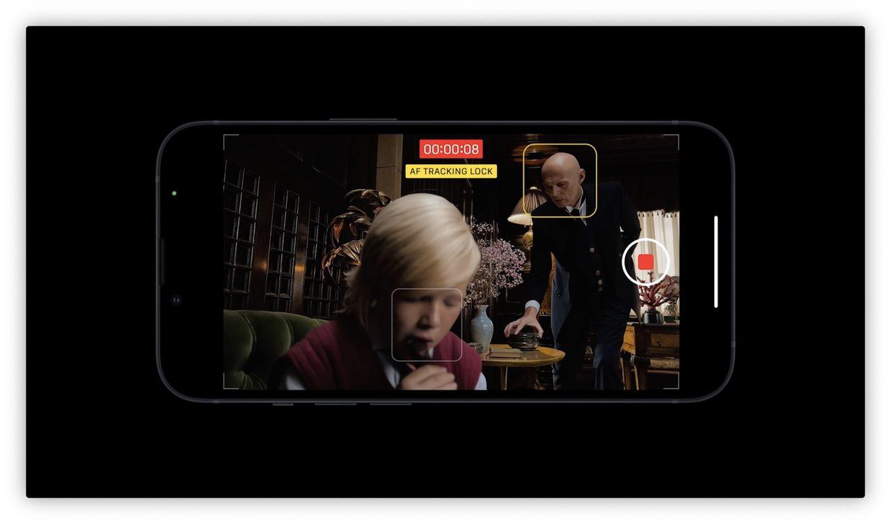 iPhone kan nu filma i cinematic mode