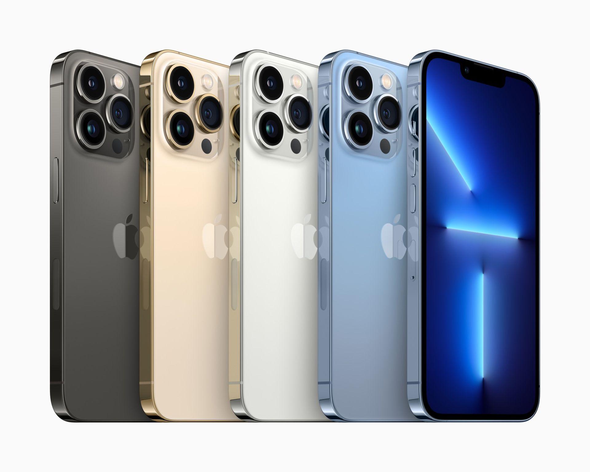 iPhone 13 Pro är här med snabbare skärm