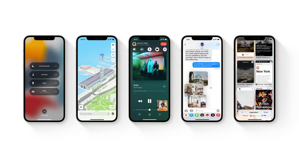 iOS och iPadOS 15 släpps 20 september