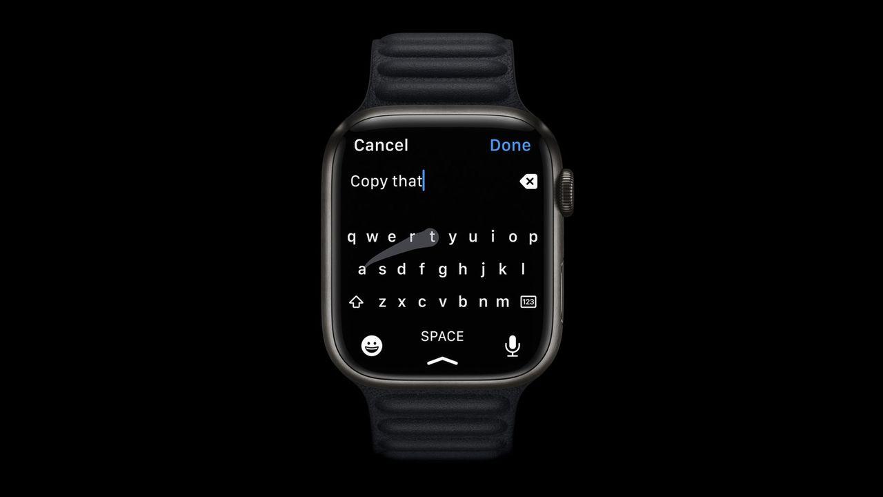 Apple Watch får stöd för fullstort tangentbord