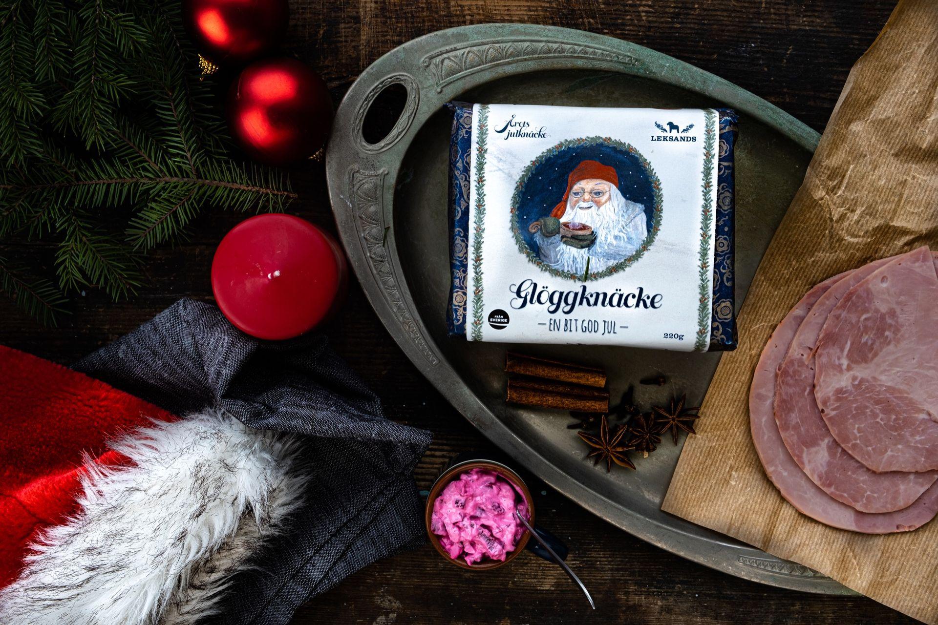 Årets julknäcke från Leksands smakar glögg