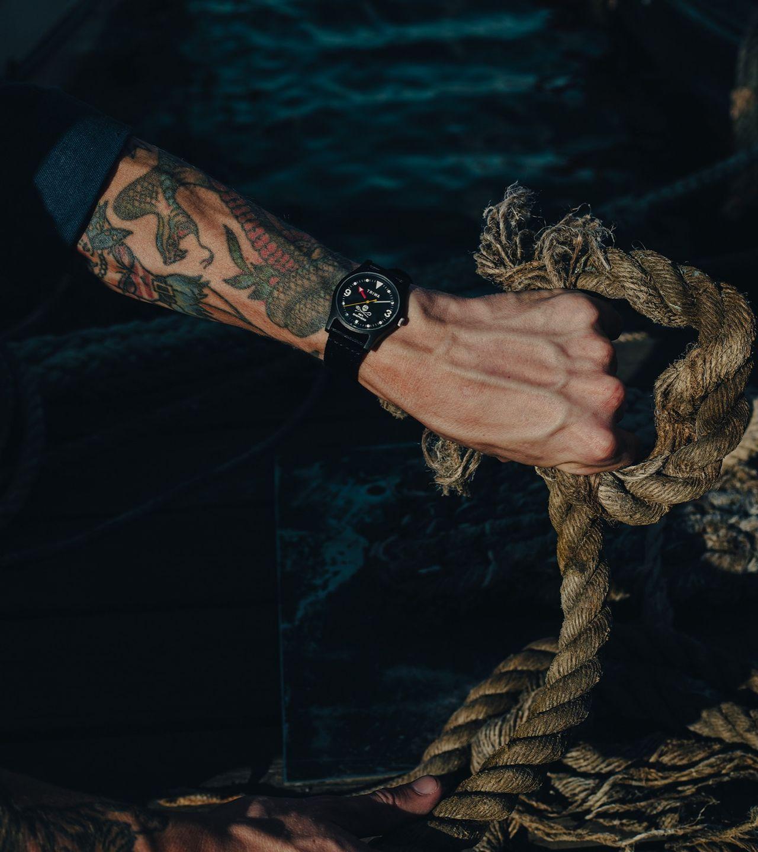 Triwa presenterar samarbete med Sea Shepherd
