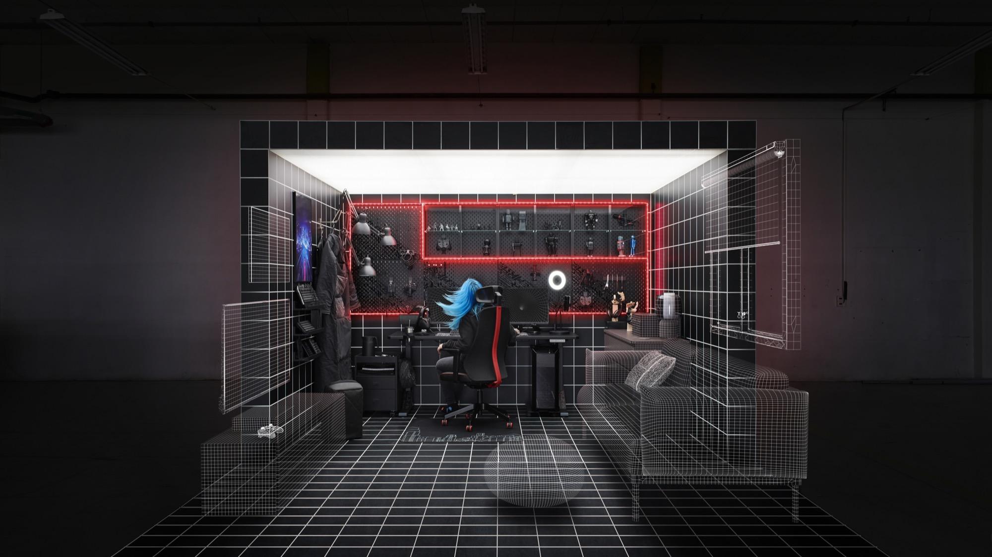 Det här är IKEAs nya gamingserie Skapad tillsammans med ROG