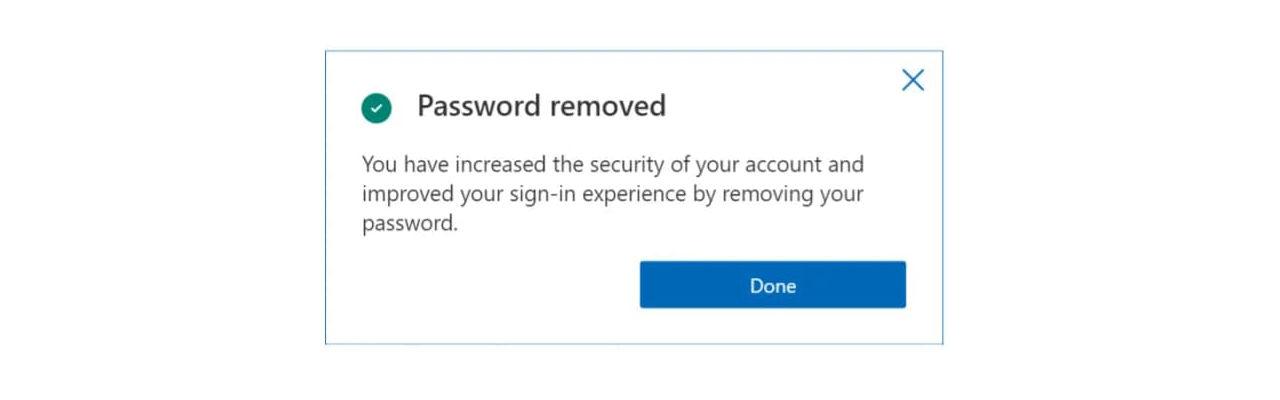 Microsoft säger hejdå till lösenord
