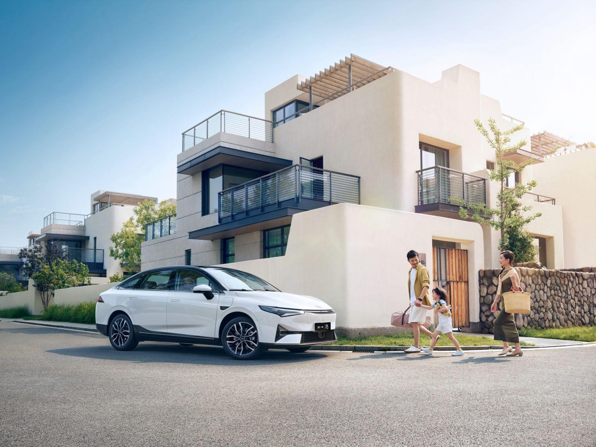 XPeng börjar sälja elbilen P5 i Kina