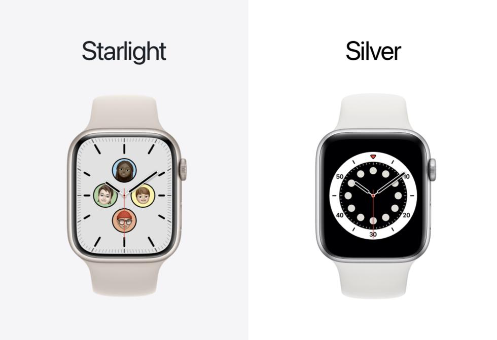 Skillnaden på Apples nya silver och rymdgrå
