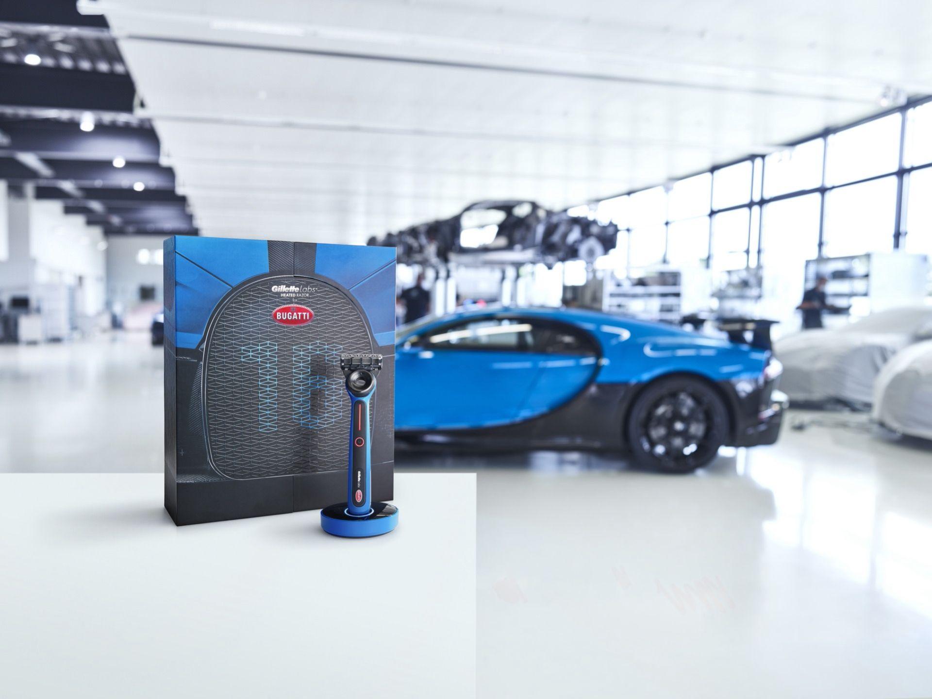 Gillette och Bugatti har tagit fram en rakhyvel