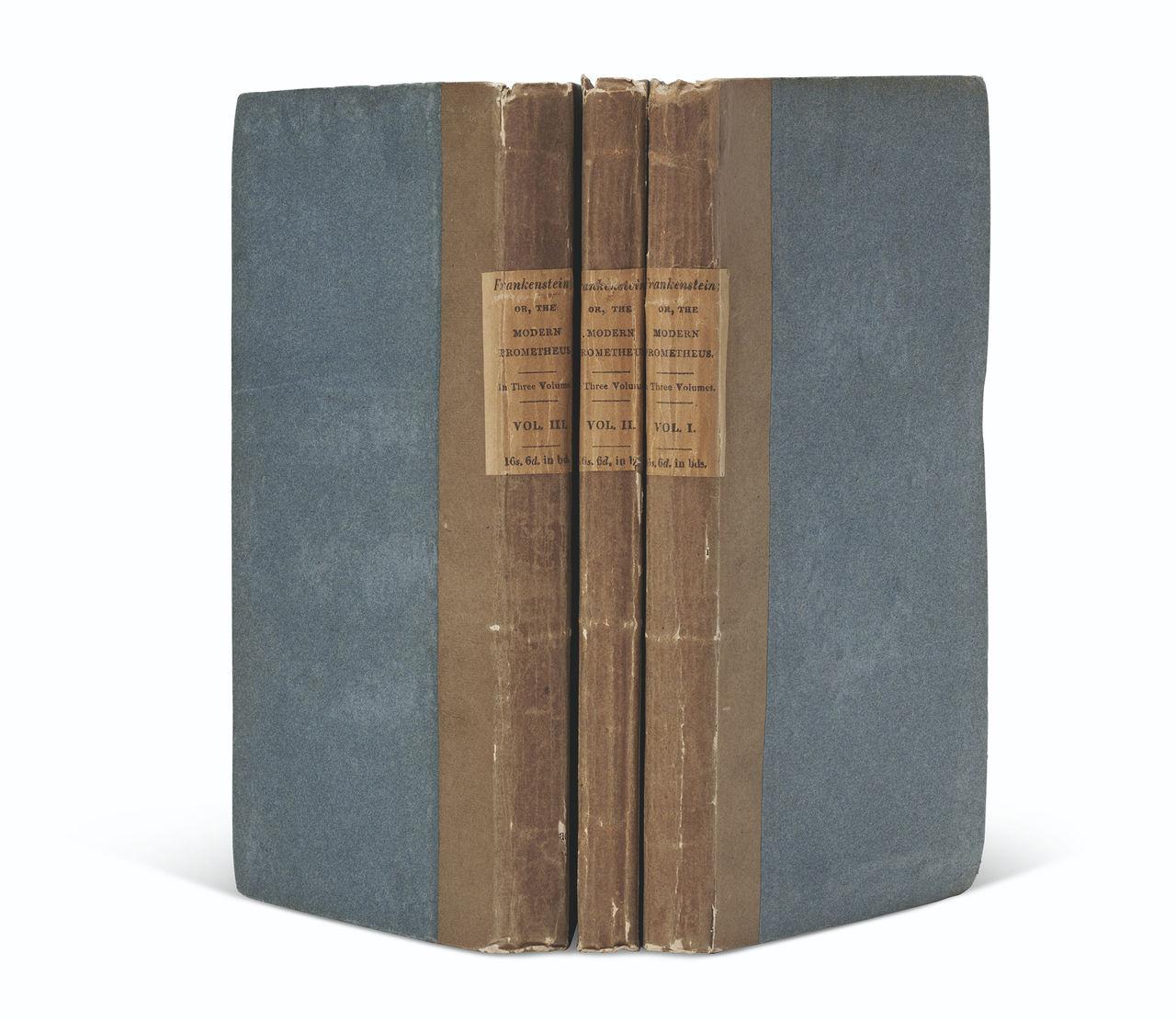 Förstaupplaga av Frankenstien såld för 1,7 miljon dollar