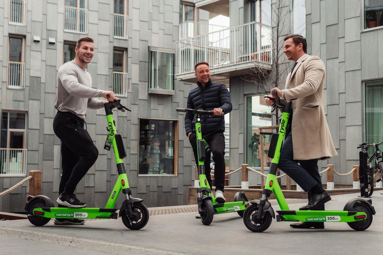 Ryde lanserar elsparkcyklar i Gävle och Växjö