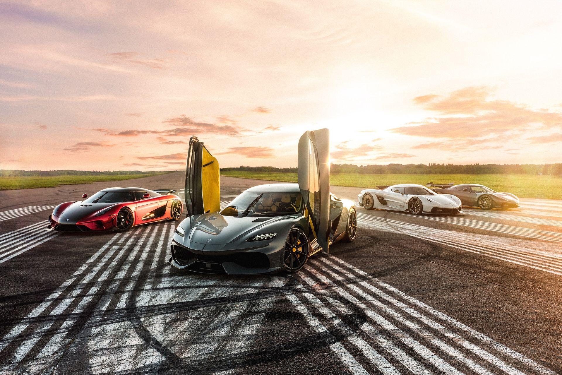 Koenigsegg bygger ny bilfabrik