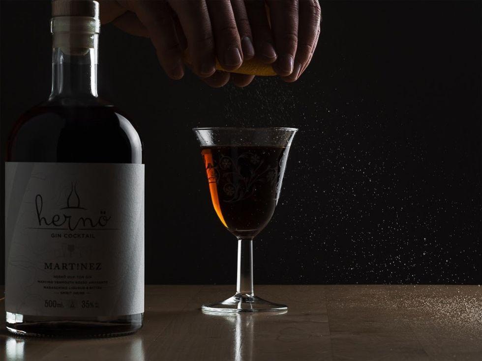 Ny färdig cocktail från Hernö Gin