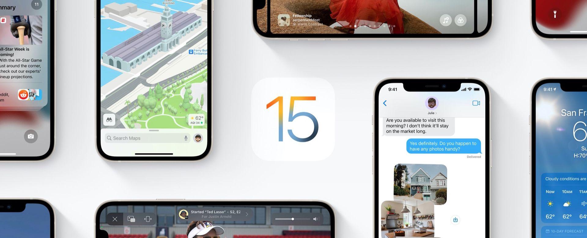 Nu kan du ladda ner iOS 15