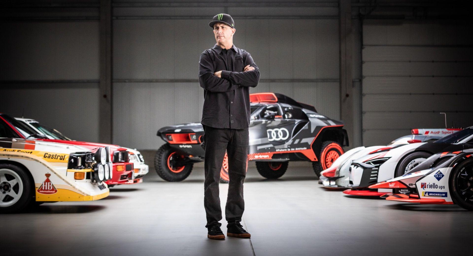 Ken Block ska hjälpa Audi att utveckla eldrivna bilar