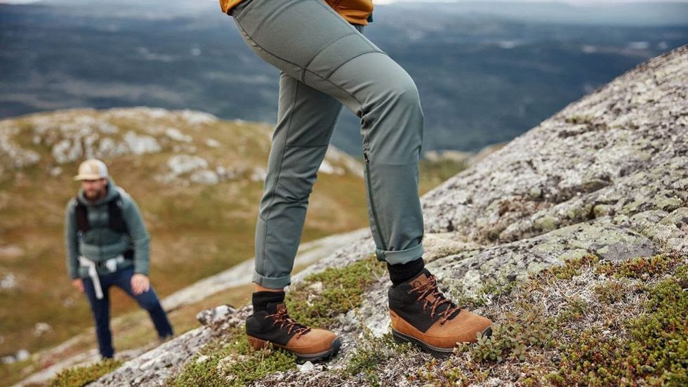 Svenska skor med sula av hampa