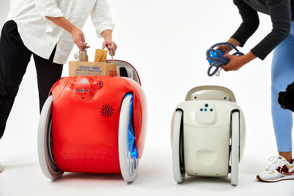 Piaggio presenterar bagageroboten Gita mini