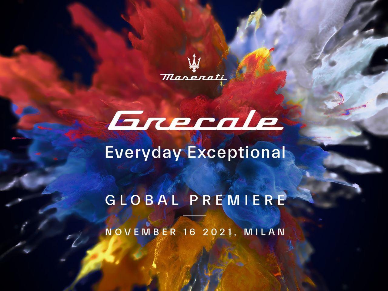 Maserati Grecale har premiär den 16 november