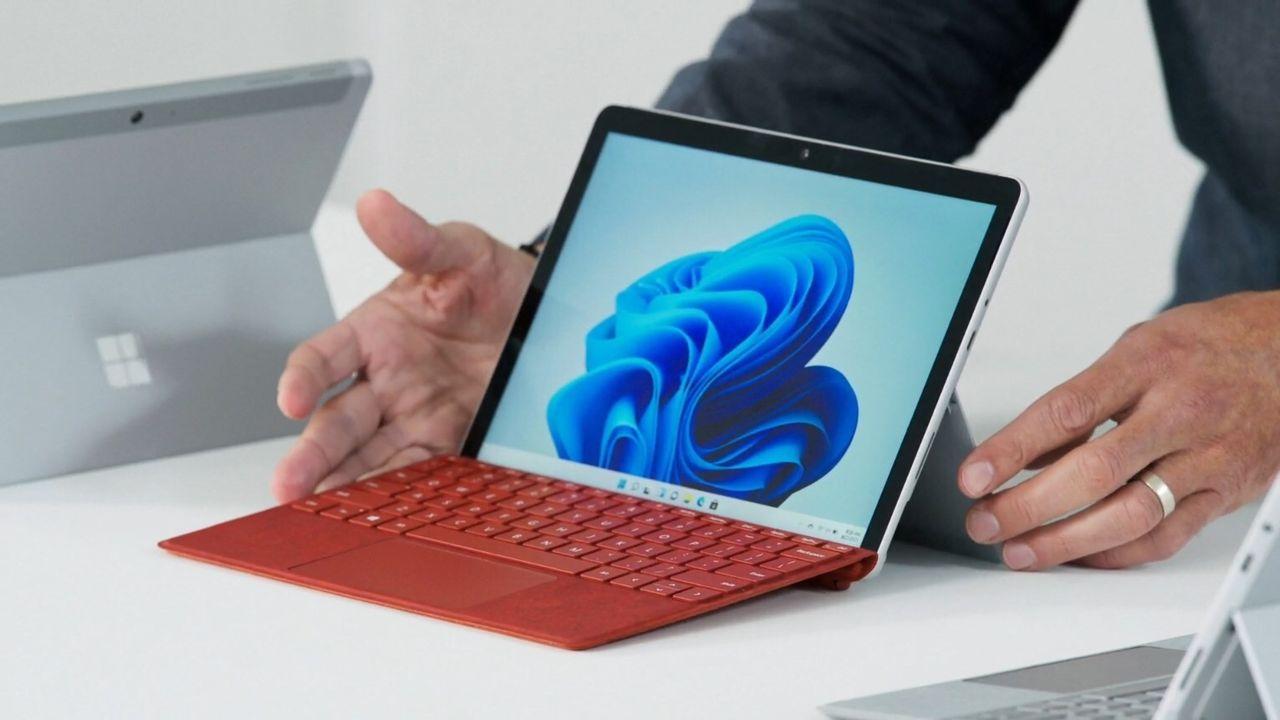 Microsoft presenterar Surface Go 3