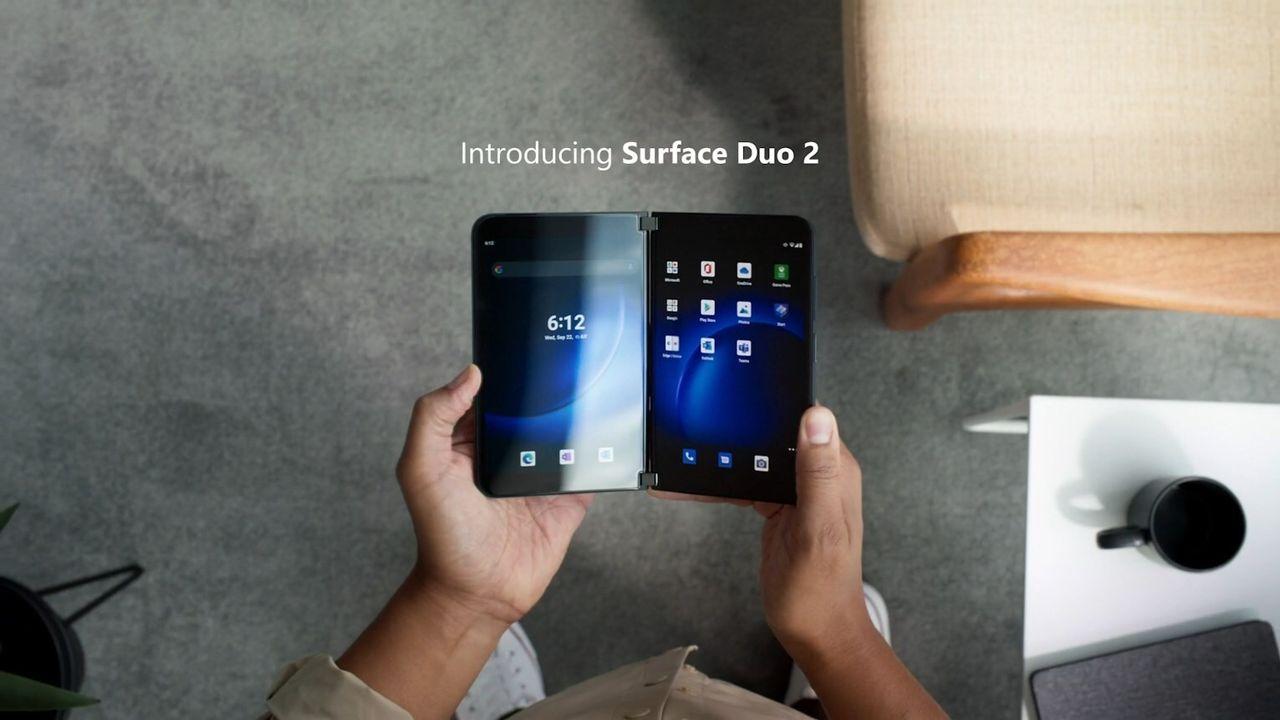 Här är Microsoft Surface Duo 2