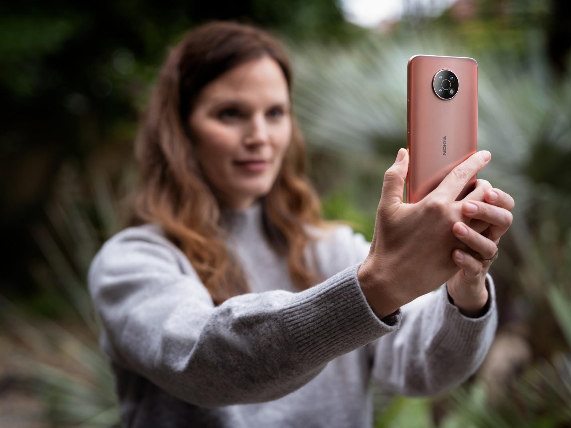 HMD Global lanserar Nokia G50 Nokias billigaste 5G-telefon