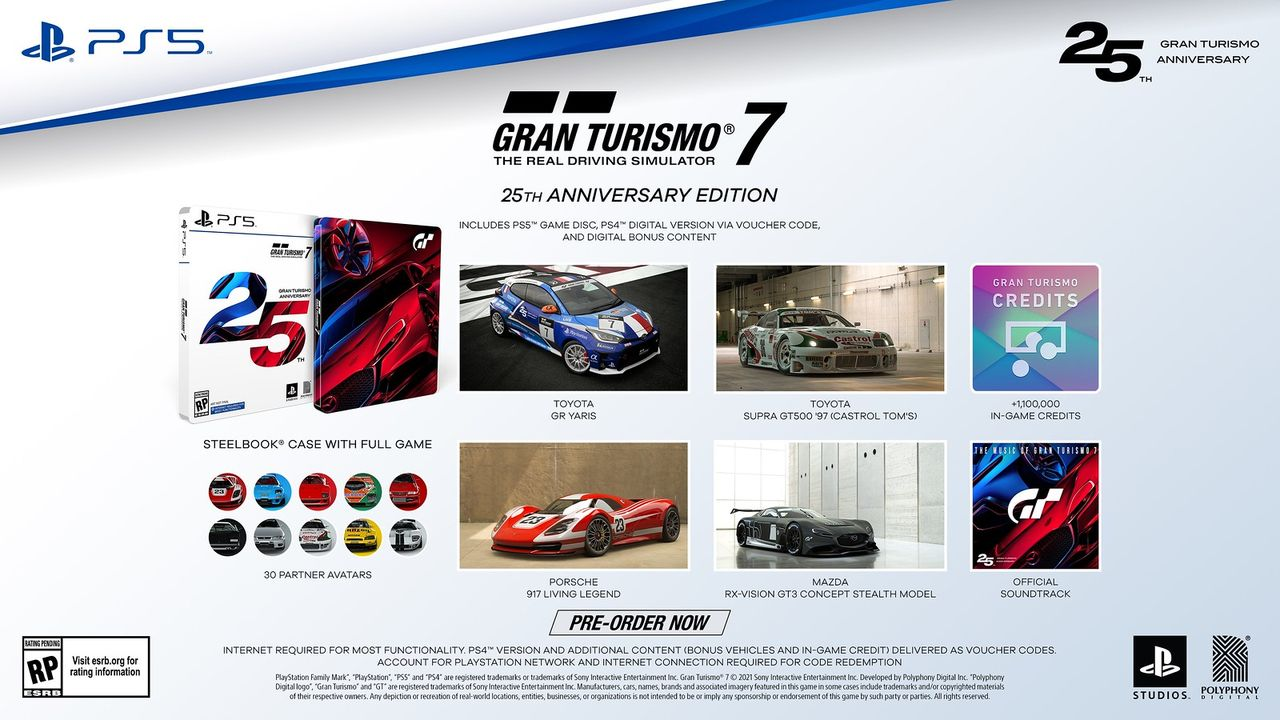 Sony släpper specialutgåva för Gran Turismo 7