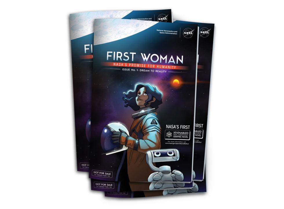 NASA släpper serietidningen First Woman