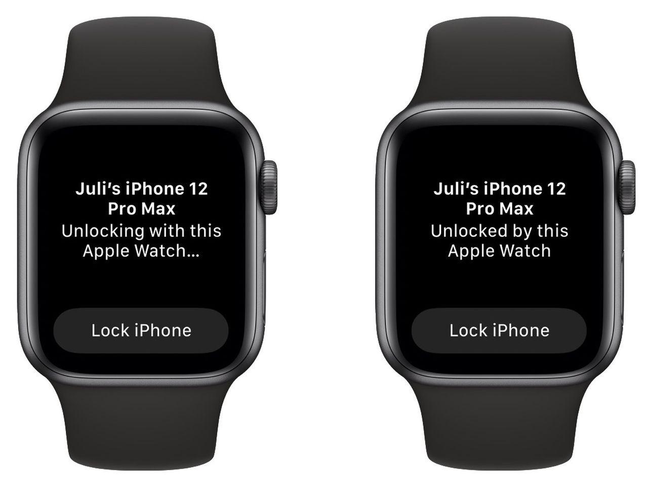 Vissa iPhone 13 går inte att låsa upp med Apple Watch