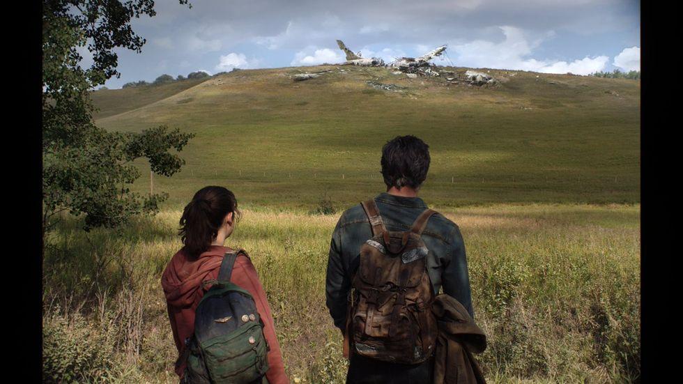 En första bild från The Last of Us-serien