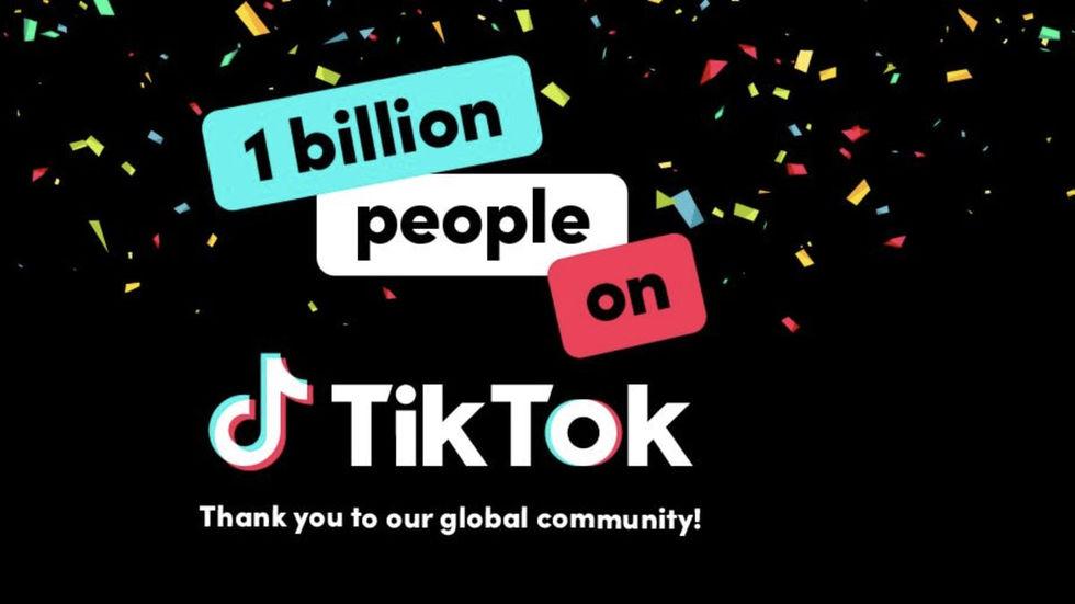 TikTok har över en miljard användare